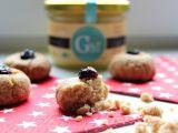 Máslové sušenky s brusinkami recept