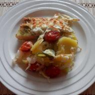 Zapečená treska se zeleninou recept