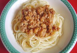 Boloňské špagety po anglicku