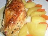 Kuřecí rolka s ořechovo sýrovou náplní recept