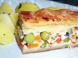 Zeleninová kapsa se sýrem recept