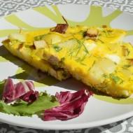 Bramborová frittata s tofu a pažitkou recept