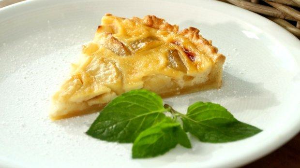 Jablečný koláč s Calvadosem