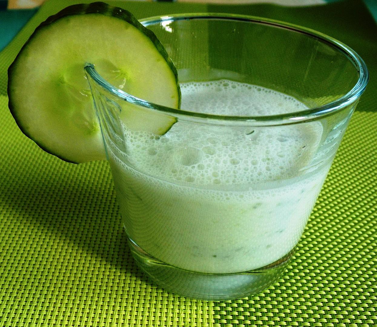 Okurkové mléko recept