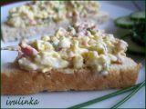 Pomazánka na chlebíčky (strouhaný salát) recept