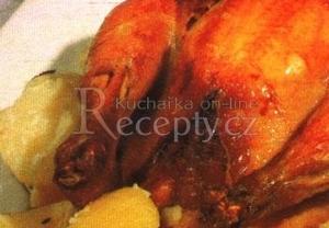 Nadívané kuře