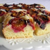 Litý švestkový koláč recept