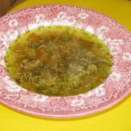 Hovězí polévka od babičky recept