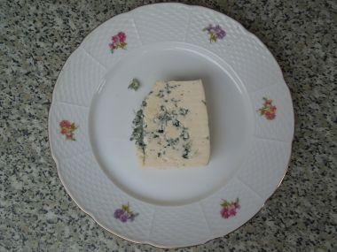 Tvarohová pomazánka se sýrem niva