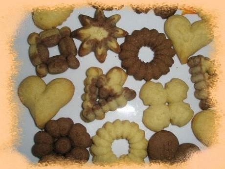 Domácí sušenky  základní recept