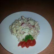Těstovinový salát s tuňákem, zeleninou a majonézou recept  Vareni ...