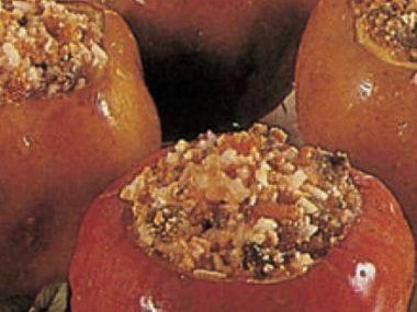 Plněná jablka pečená v troubě