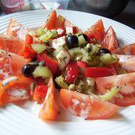 Zeleninový surimi salát recept
