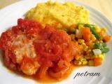 Rybí filé na rajčatech recept