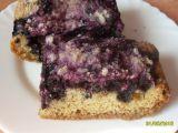 Borůvkový tvarohový dezert recept