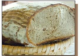 Kváskový podmáslový chléb recept