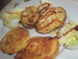 Dvakrát zapečené brambory recept
