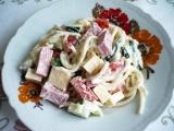 Špagetový salát 2 recept