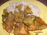 Pečené kuře s cuketou a indickým nádechem recept