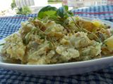 Bramborový salát z grilovaných nových brambor a bylinek recept ...