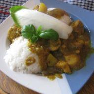 Thajské kuřecí kari recept