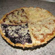 Čtyřbarevný ovocný koláč recept