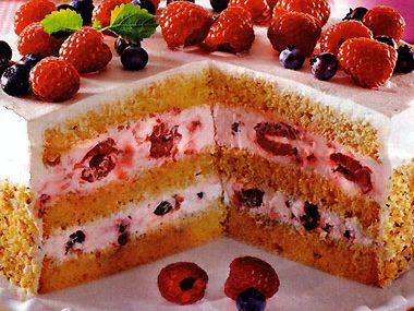 Jahodový dort výborný