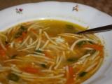 Rychlá falešná slepičí polévka z mrkve recept