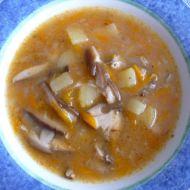 Dršťková polévka z hub recept