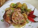 Kuřecí roláda s nádivkou z vepřovky recept