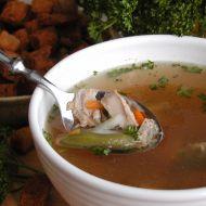 Polévka z lososa recept