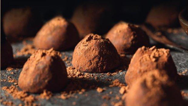 Čokoládové lanýže s Baileys