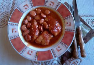 Kečupové řízečky à la Daniel