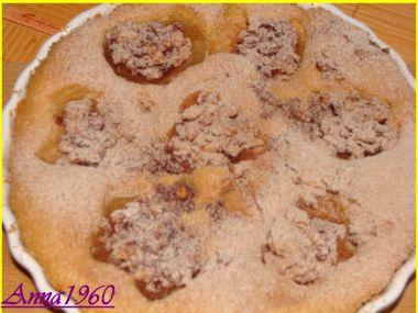 Brusinkovo-ořechová jablka v piškotu
