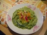 Špenátové rizoto se sýrem recept
