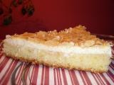 Tvarohový koláč s kokosem a mandlemi recept