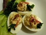 Plněná vejce se žampiony recept