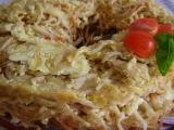 Špagetová bábovka recept