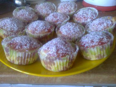 Kokosový muffin