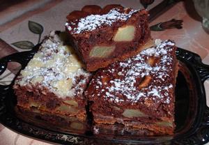 Jablečník bez vajec  jablečný koláč (buchta)