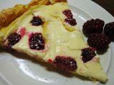 Polentový koláč s tvarohem recept