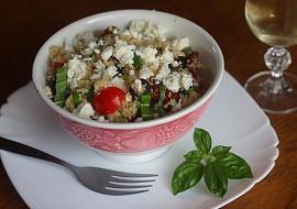 Kuskusový salát s balkánským sýrem recept
