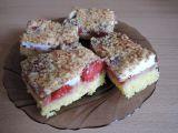 Jahodový koláč se sněhovou peřinou recept