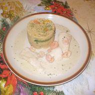 Zelené kari s pangasiusem a krevetami recept