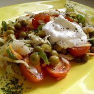 Zelný salát s rajčátky recept