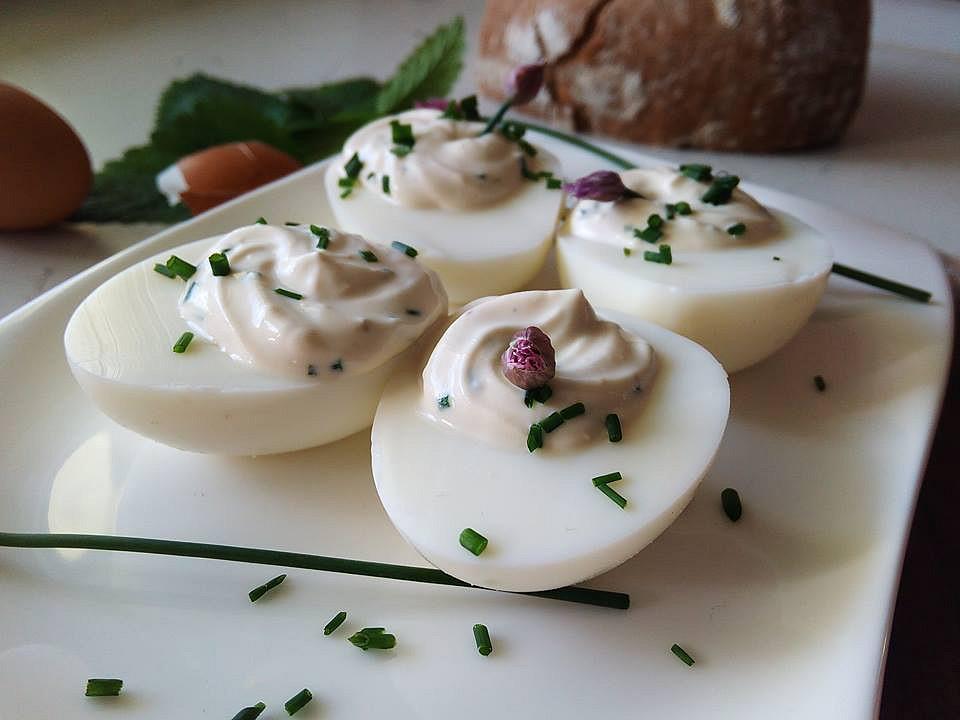 Smetanová pomazánka s vejci recept
