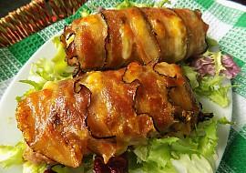 Roládky z mletého masa s libečkem, šunkou a sýrem recept ...
