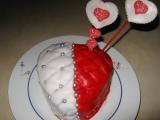Valentýnské srdce recept