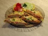 Topinky s lososem a sýrem recept