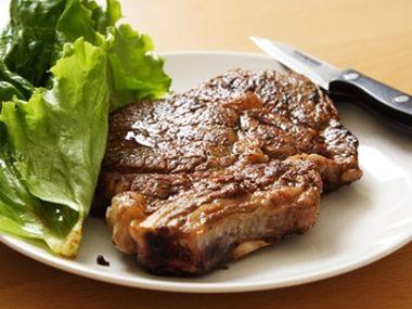 Šťavnatý steak  jedna báseň